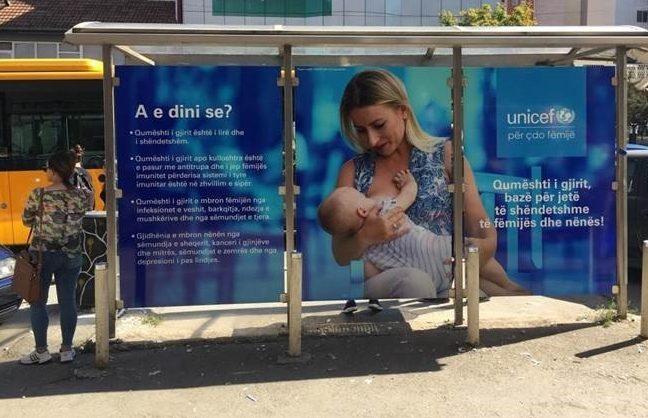 UNICEF  Shkalla e ushqyerjes me gji në Kosovë është 40