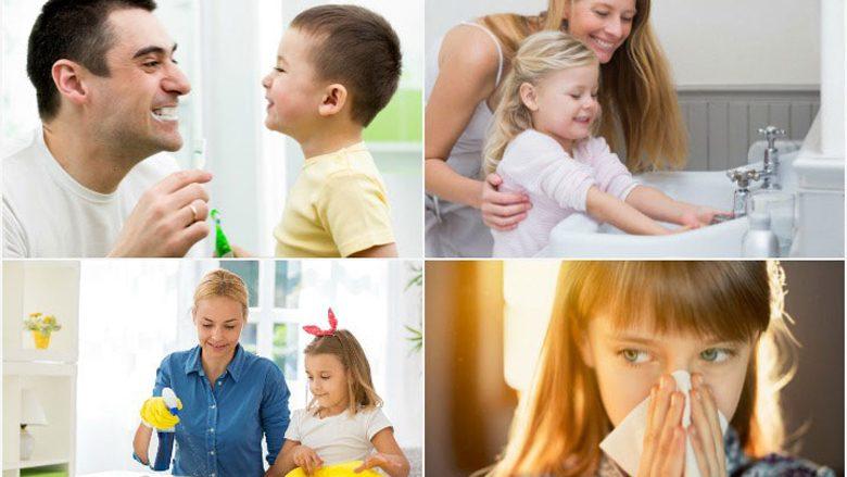 Udhëzoni si të mbajnë higjienën personale  Çfarë është e rëndësishme të përvetësojnë fëmijët