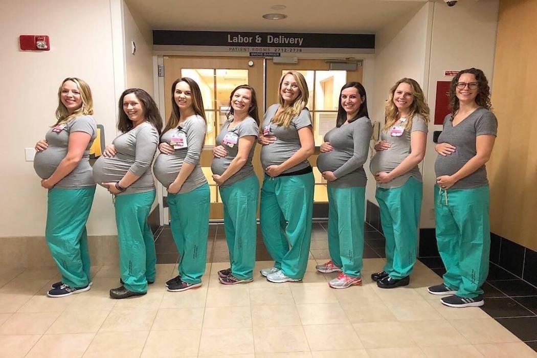 Nëntë infermiere nga i njëjti spital  shtatzënë në të njëjtën kohë