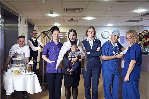 Spitali luksoz ku nënat paguajnë gjysmë milioni dollarë për lindje